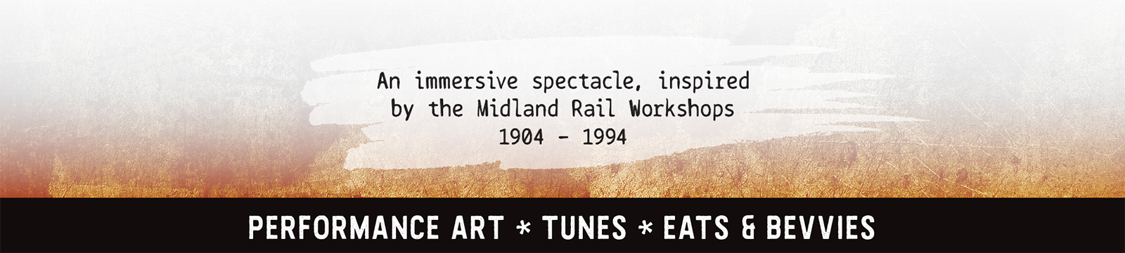 An immersive spectacle, inspired by the midland railway workshops